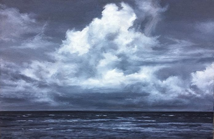 Oil seascape paintings