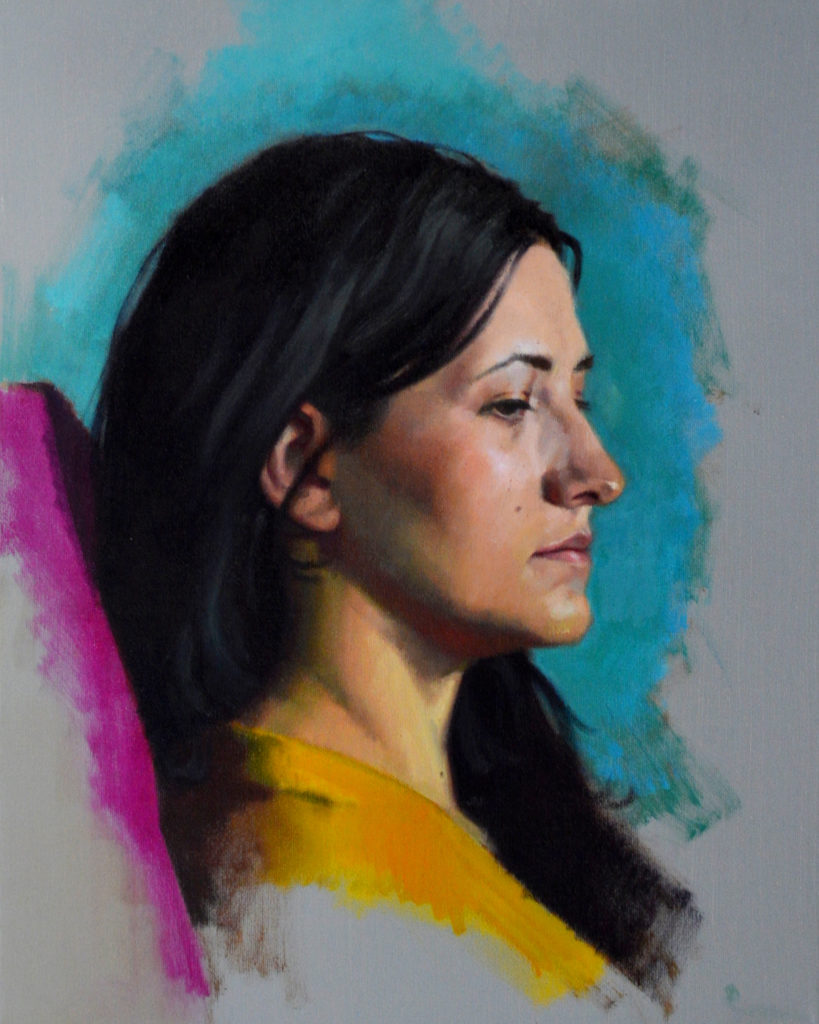 Art collecting - oil portrait paintings