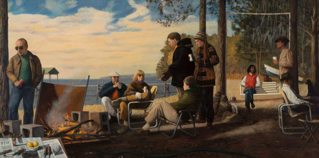 """""""Oyster Roast,"""" 1985-86, by Manning Williams"""