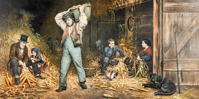 Eastman Johnson, published by Currier & Ives,